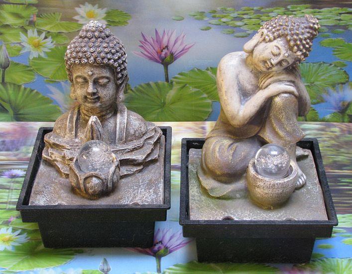Boeddha Met Led Verlichting.Boeddha Fontein Bf843 Boeddhas Spiritueel Fonteintje Met