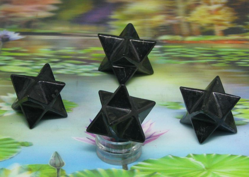 Merkaba shungite 50mm