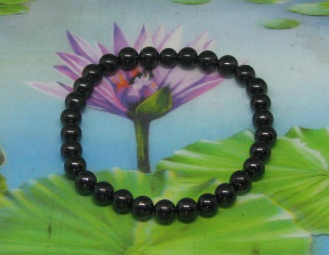 * Armband shungite 30 parels 6 mm