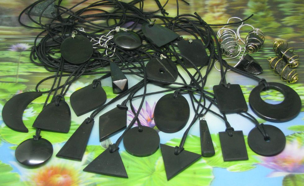 # Shungite hanger assortiment #